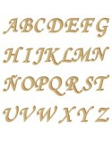 Silueta Abecedario 001 Monotype mayúscula 15mm