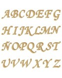 Silueta Abecedario 001 Monotype mayúscula 30mm