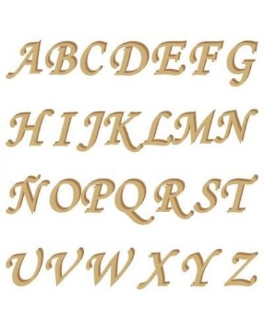 Alphabet Silhouette 001 Monotype Capital Letter 30mm