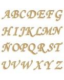 Silueta Abecedario 001 Monotype mayúscula 60mm
