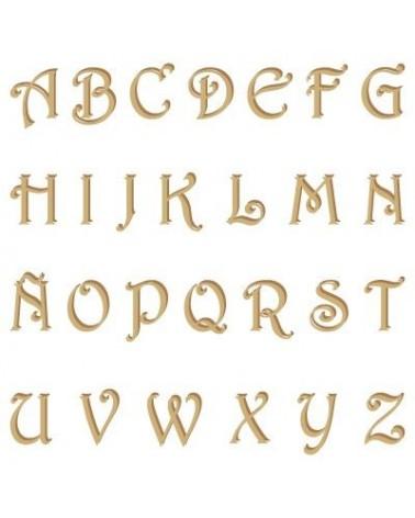 Silhouette Alphabet 002 Harrington Großbuchstabe 15mm