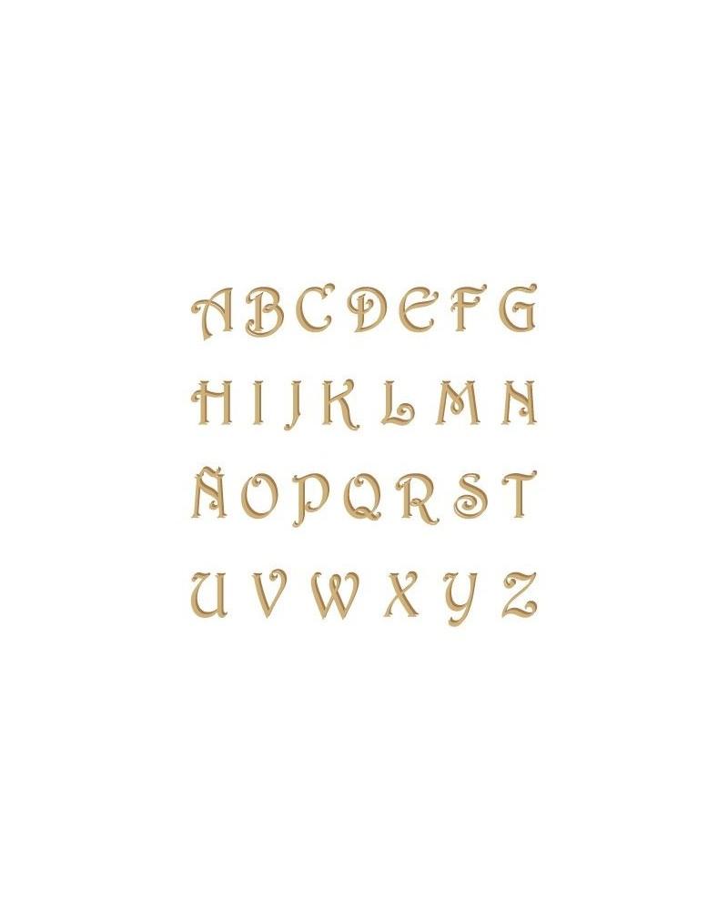 Silhouette Alphabet 002 Harrington Uppercase 60mm