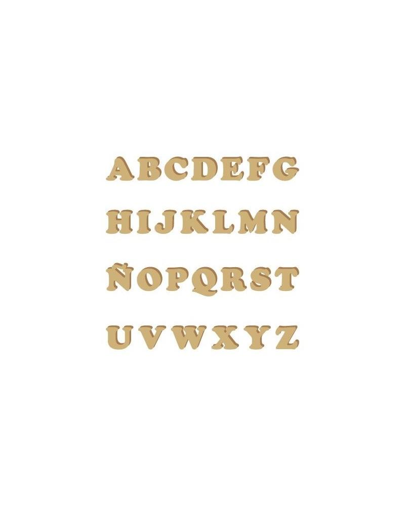 Silhouette Alphabet 003 Cooper Uppercase 60mm