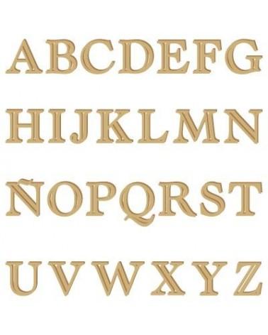 Silhouette Alphabet 005 Castellar Uppercase 30mm