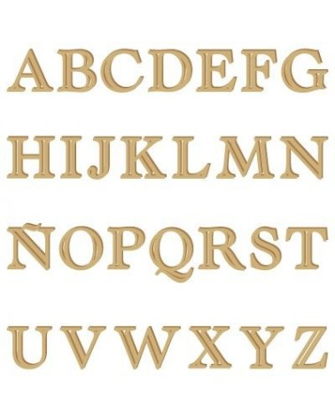 Alphabet Silhouette 005 Castellar Capital Letter 60mm