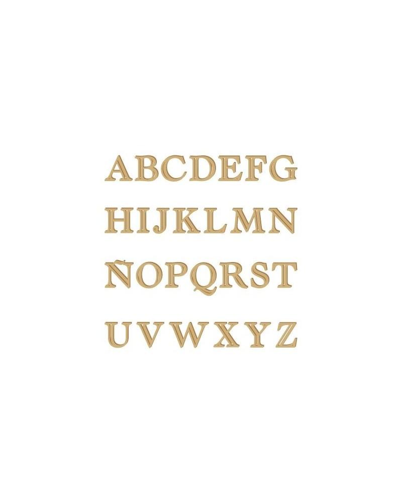 Silhouette Alphabet 005 Castellar Uppercase 60mm