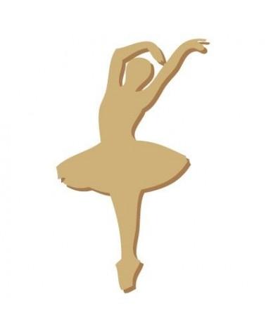 Silhouette Figur 003 Balletttänzerin