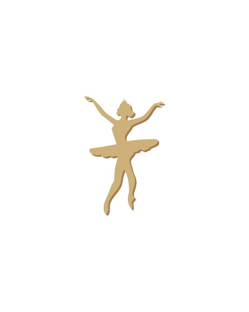 Silueta Figura 004 Bailarina ballet