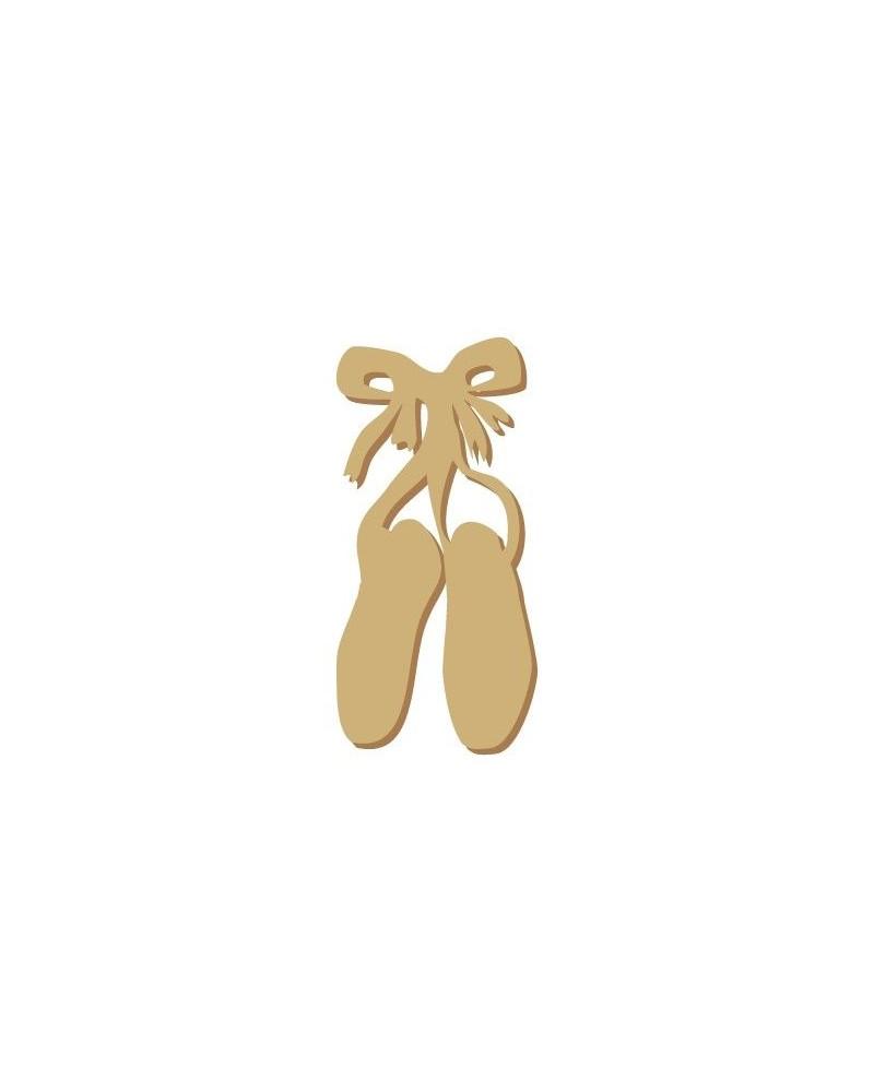Silueta Figura 005 Zapatos ballet
