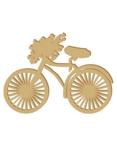 Silhouette Figur 007 Fahrrad