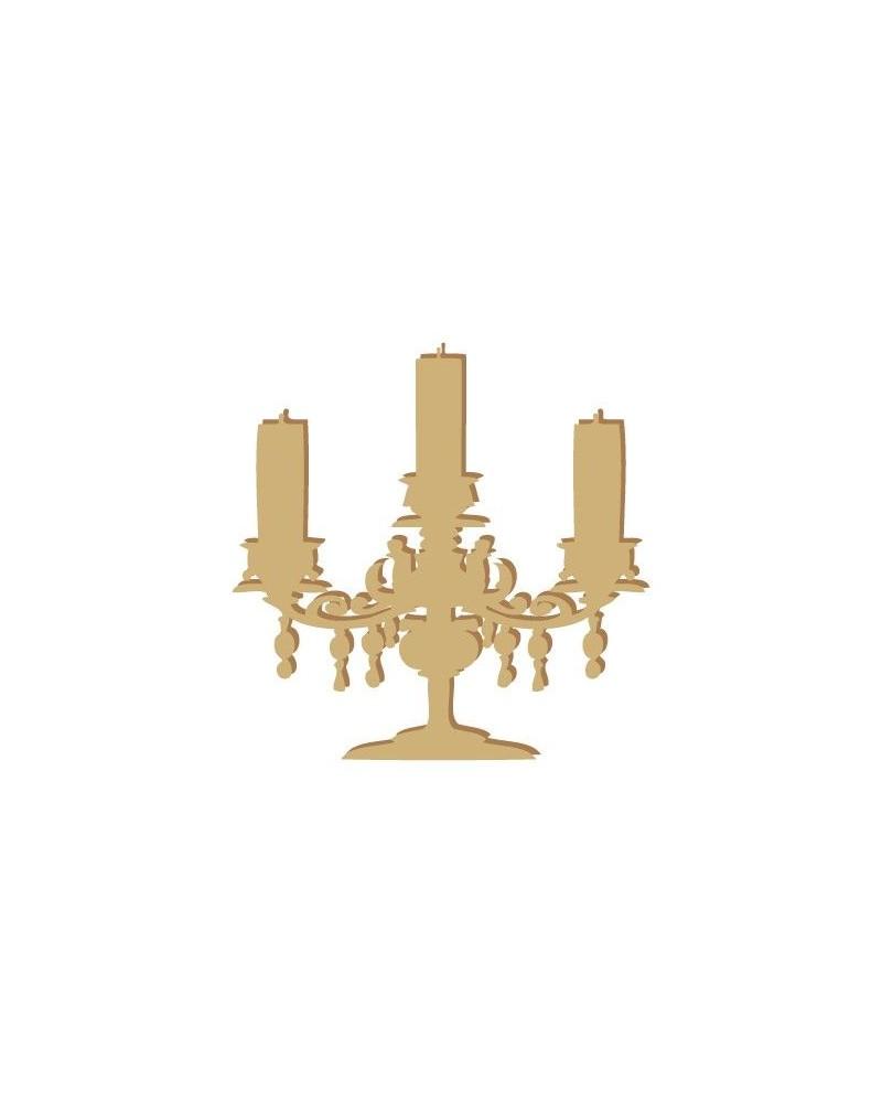 Silueta Figura 009 Candelabro