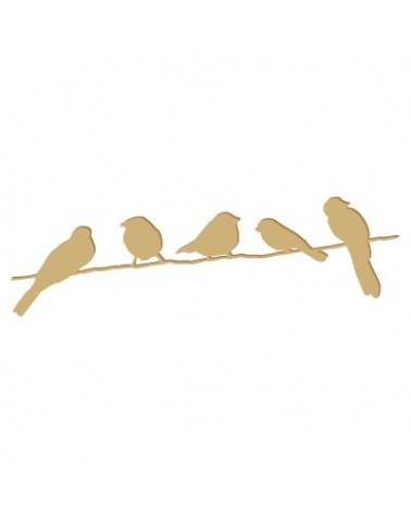Figure Silhouette 013 Birds Branch