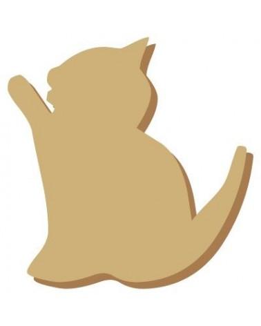 Mini Silhouette 003 Cat