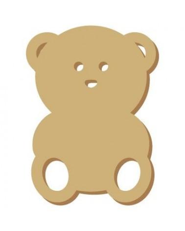 Mini Silhouette 031 Teddy Bear