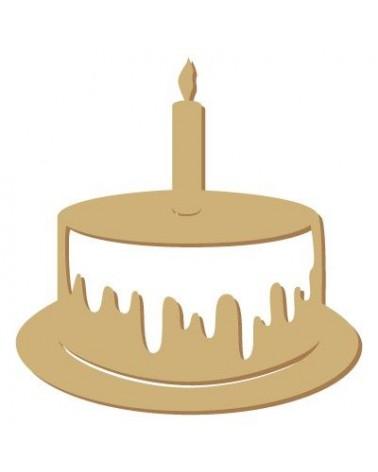Mini Silhouette 034 Cake