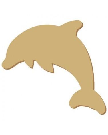Mini Silhouette 042 Dolphin