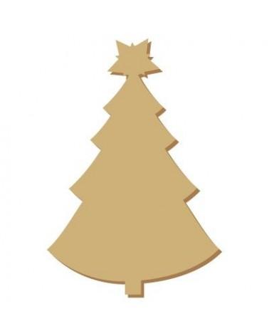 Silhouette Mini 059 Weihnachten 2 Baum