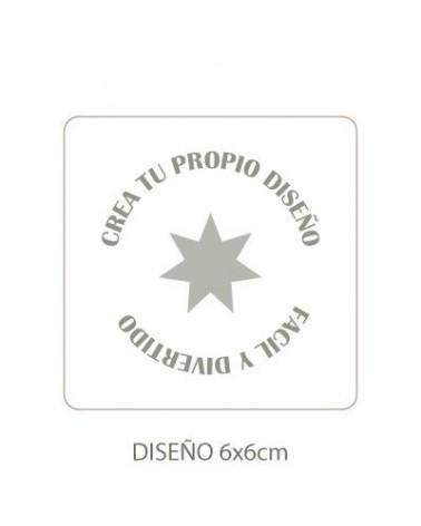 Stencil Personalizado 007 9x9cm