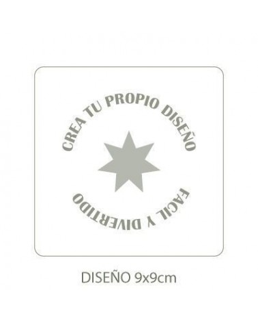 Stencil Customized 008 12x12cm