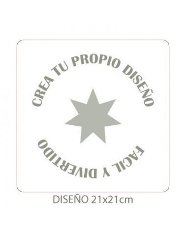 Stencil Customized 011 25x25cm