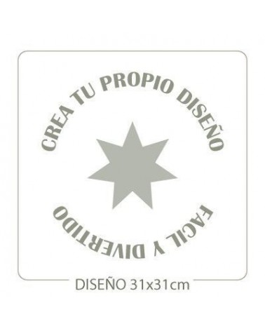 Stencil Customized 013 35x35cm