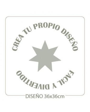 Stencil Customized 014 40x40cm
