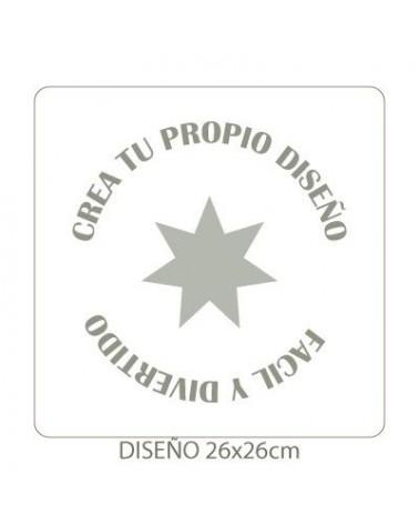 Stencil Personalizado 012 30x30cm
