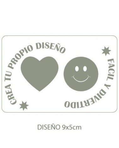 Stencil Customized 015 12x8cm