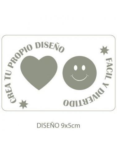 Stencil Personalizado 015 12x8cm