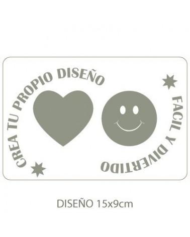 Stencil Customized 016 18x12cm