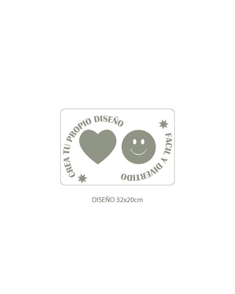 Stencil Personalizado 001 para Galletas