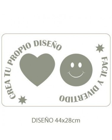 Stencil Personalizado 021 48x32cm