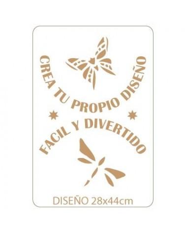 Stencil Personalizado 028 32x48cm