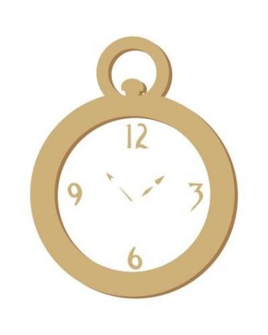 Silueta Figura 051 Reloj