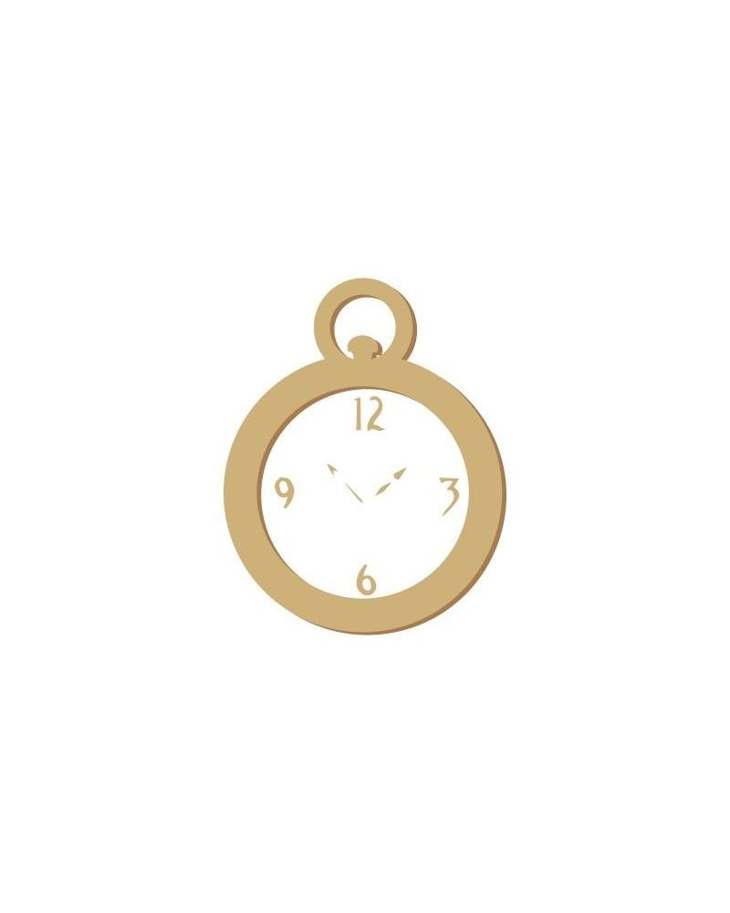 Figure Silhouette 051 Clock