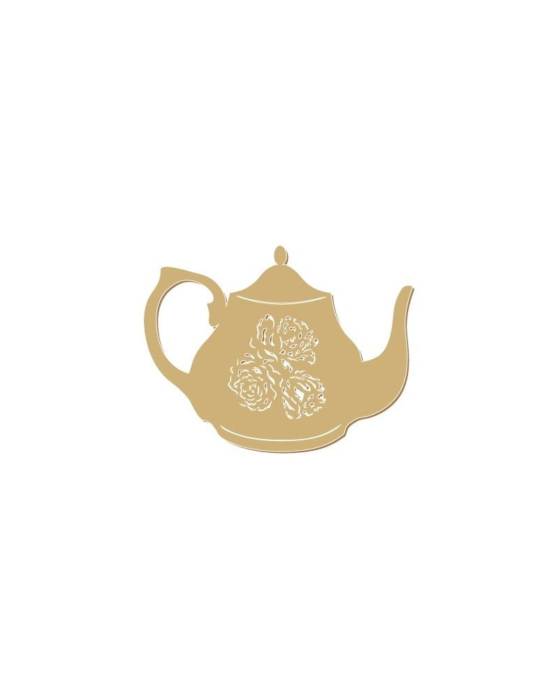 Figure Silhouette 063 Teapot
