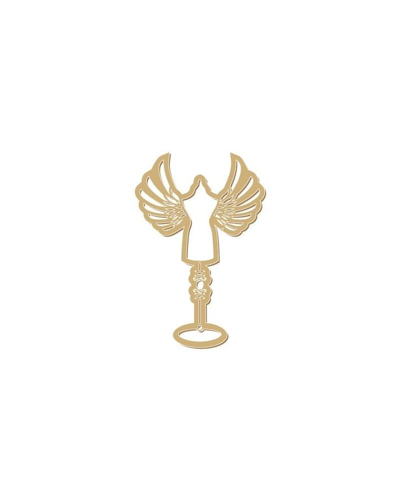 Figure Silhouette 066 Manikin Wings