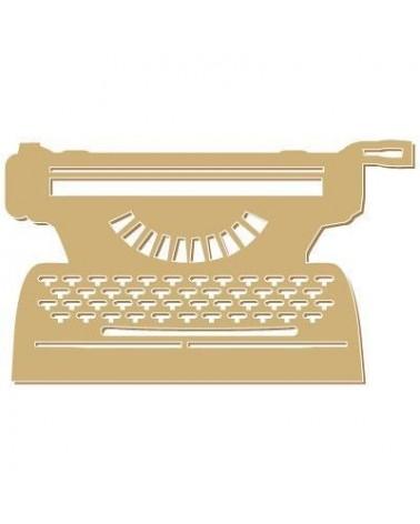 Figure Silhouette 070 Writing Machine