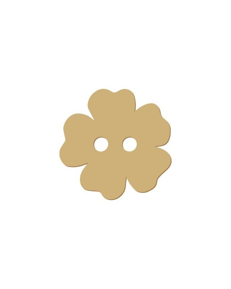 Silhouette Button 013 Flower