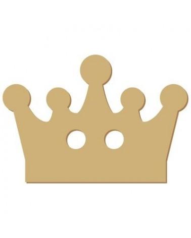Silhouette Button 017 Crown