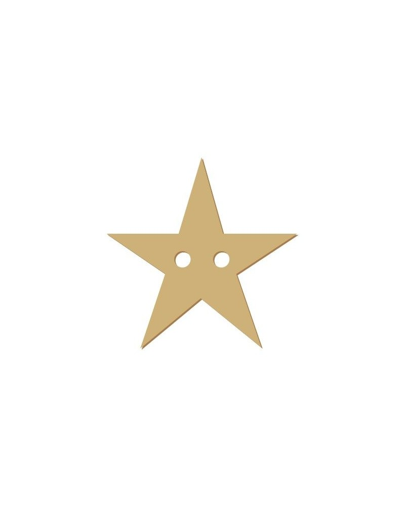 Silhouette Button 021 Star