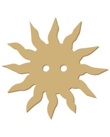 Silhouette Button 023 Sun