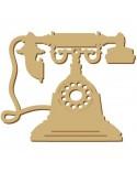 <h2>Silhouette Figur 087 Telefon</h2> <p>Grösse (Breite x Höhe):</p> <ul> <li>6 x 5 cm</li> <li>9 x 7,5 cm</li> <li>12 x 10 cm</li> <li>18 x 15 cm</li> <li>24 x 20 cm</li> <li>30 x 25 cm</li> </ul> <p>Wahl zwischen Holz und Pappe</p>