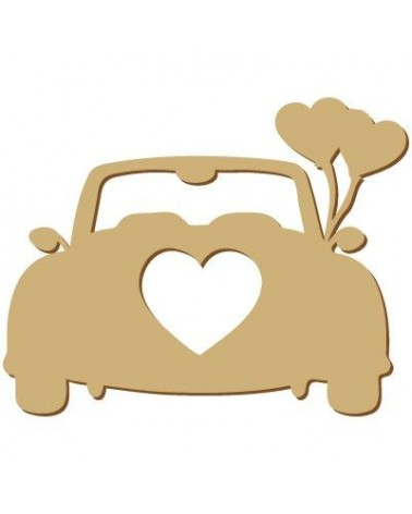 Silhouette Figure 088 Wedding Car
