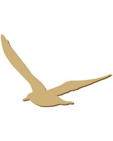 Silhouette Figure 092 Seagull
