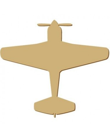 Silueta Figura 105 Avion