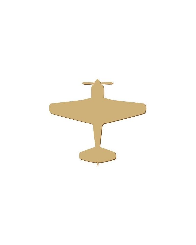 Silhouette Figur 105 Flugzeug