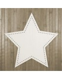 <h2>Wood Board 011 Stitched Star</h2> <p>Aproximate size (width x heigth):</p> <ul><li>30 x 30 cm (11,8 x 11,8 in)</li> <li>40 x 40 cm (15,7 x 15,7 in)</li> <li>50 x 50 cm (19,7 x 19,7 in)</li> <li>60 x 60 cm (23,6 x 23,6 in)</li> </ul>
