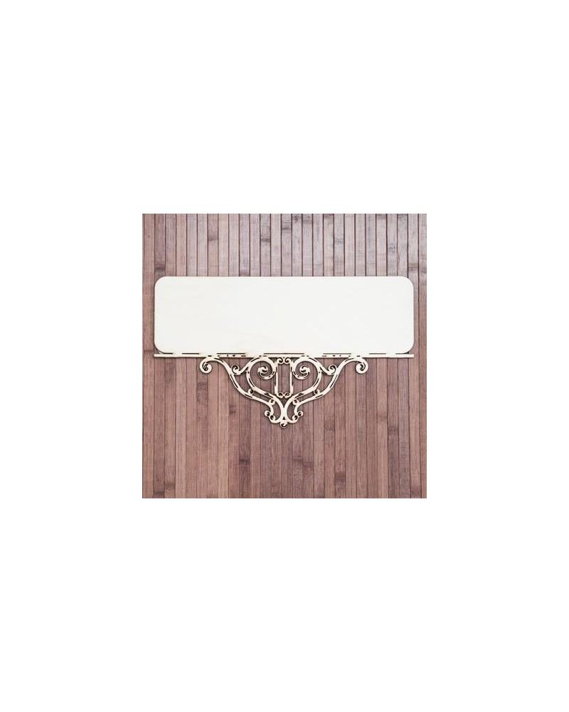 soporte madera 031 cartel vintage industrial