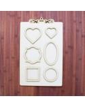 Wood Board 023-40 Photo Frame 25x40cm